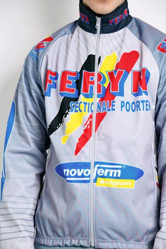 90s vintage cycling jacket multi