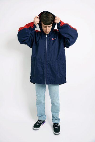 NIKE vintage hooded coat