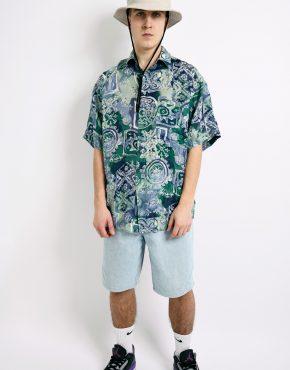 pattern summer shirt men