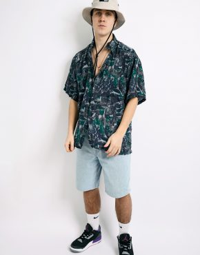 90s casual abstract shirt