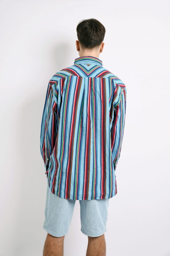 Tommy Hilfiger vintage 80s two-fly shirt