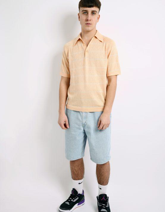 60s polo shirt pastel