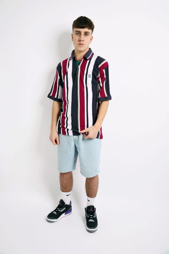 striped vintage polo shirt