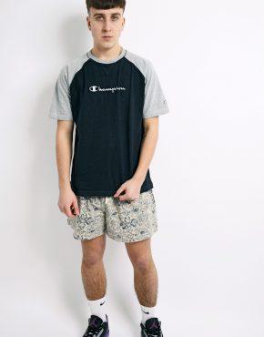 CHAMPION cotton grey t-shirt