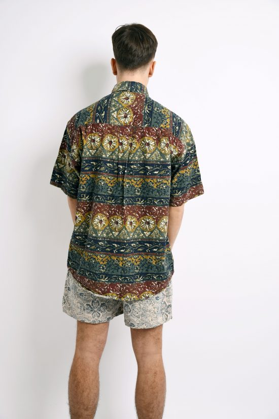 Floral vintage shirt for men