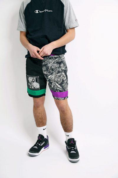 90s summer nylon shorts