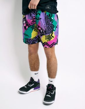 Vintage colourful summer shorts