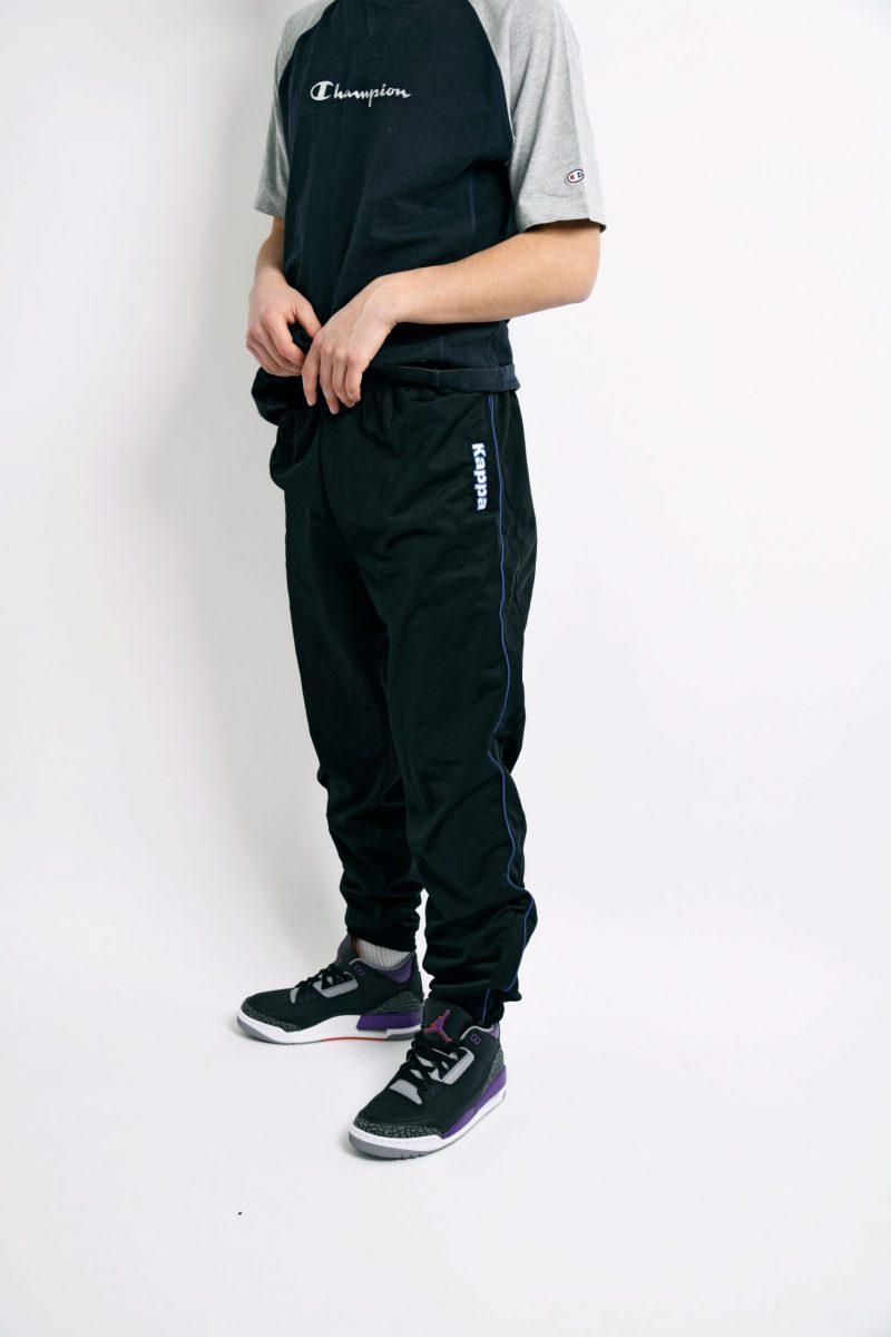KAPPA pants black 90s