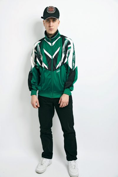 Retro JAKO jacket green