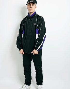Vintage REEBOK jacket black