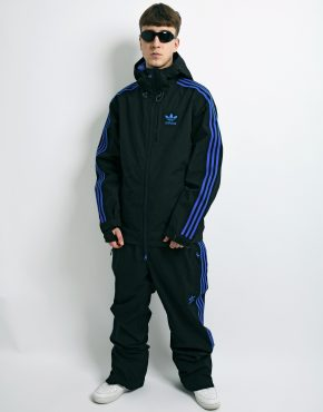 Adidas hooded snowboarding suit