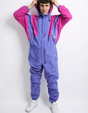 80s winter ski suit