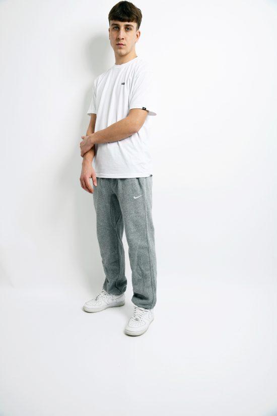Vintage Nike sport soft pants grey