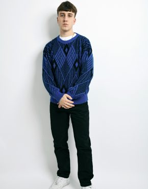 90s retro sweater mens