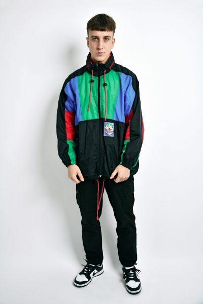 Vintage festival wind jacket