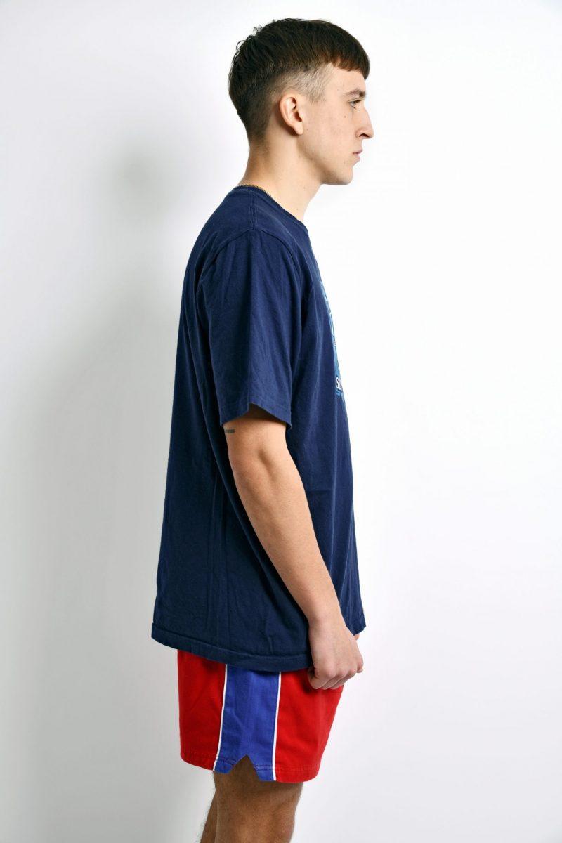 NIKE cotton vintage t-shirt blue