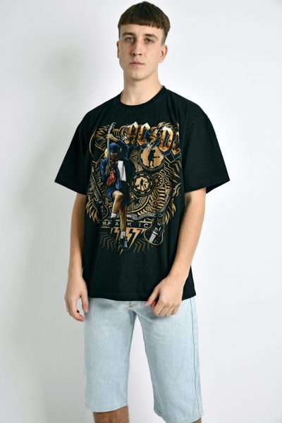 ACDC printed t-shirt unisex
