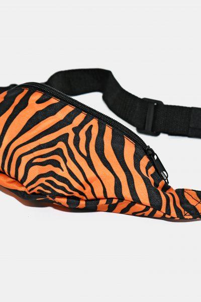 90s tiger bum bag