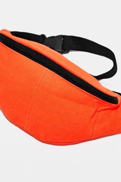 Vintage bum bag orange