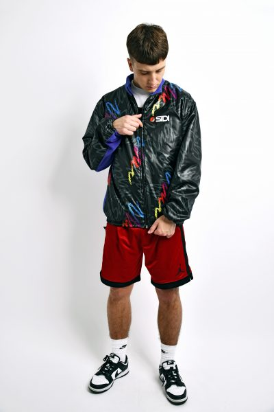 80s warm fleece jacket