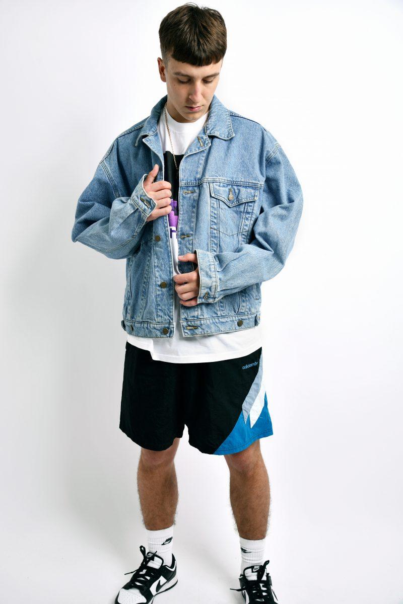 Vintage jacket blue denim