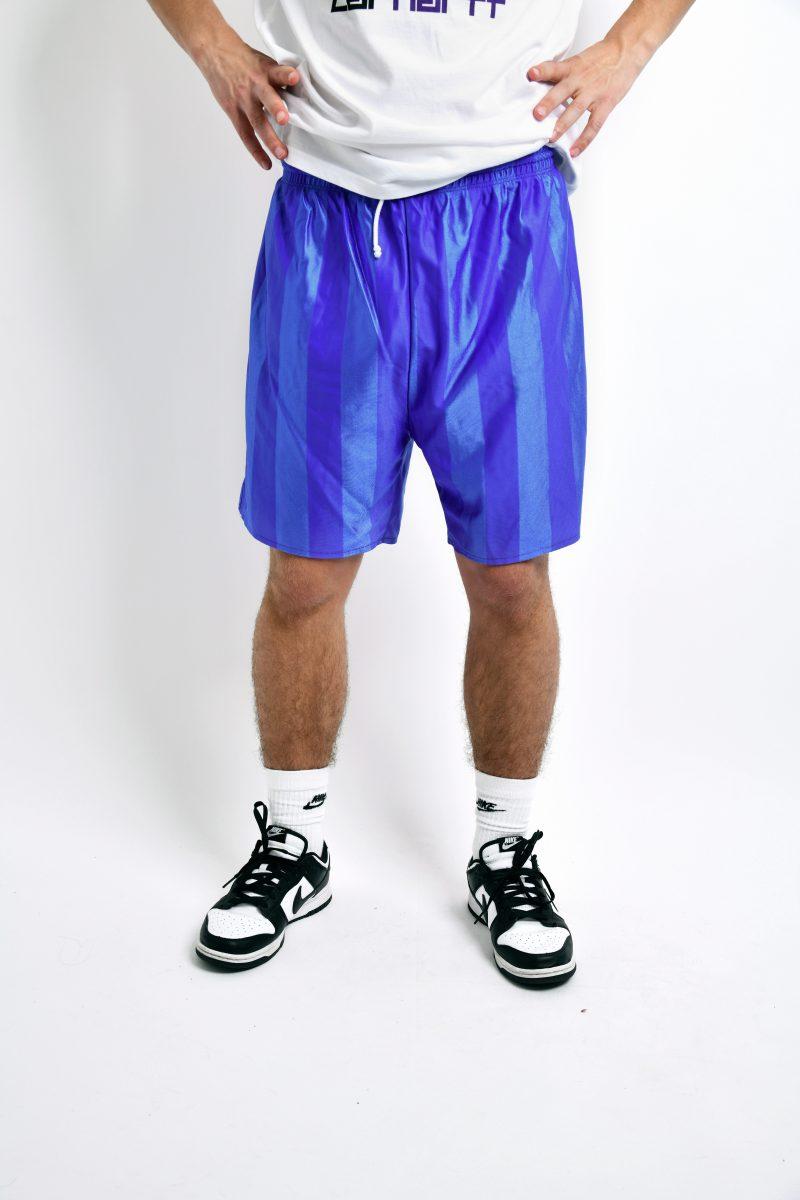 Vintage blue shorts for men