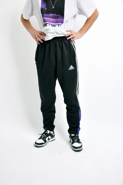 Retro black pants Adidas