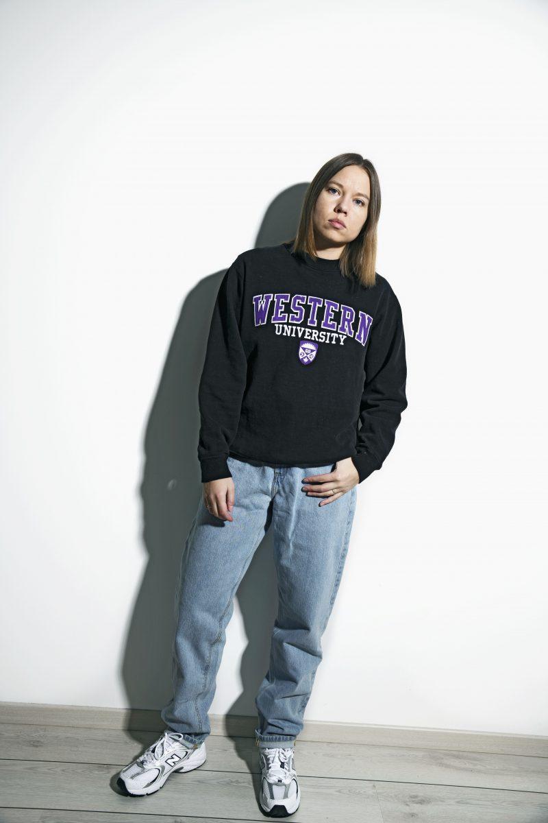 Western University Canada sweatshirt