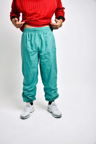 REEBOK vintage pants green