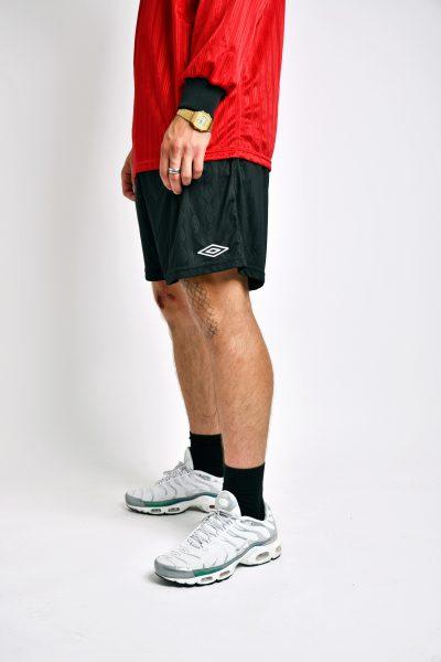 Umbro vintage black shorts