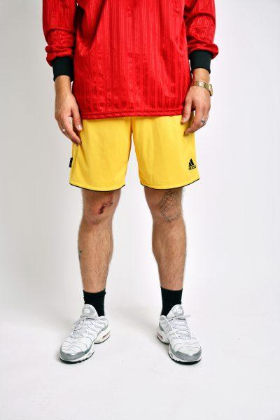 ADIDAS vintage yellow shorts