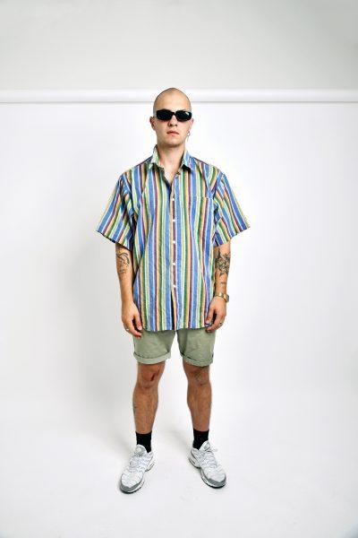 summer vintage striped shirt