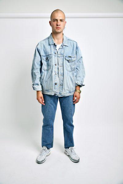 90s WRANGLER denim jacket