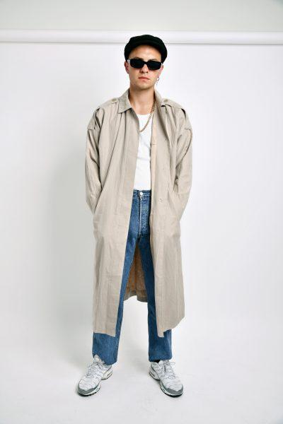 Vintage trench coat beige