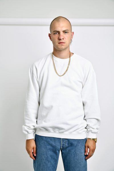 ADIDAS vintage sweatshirt white
