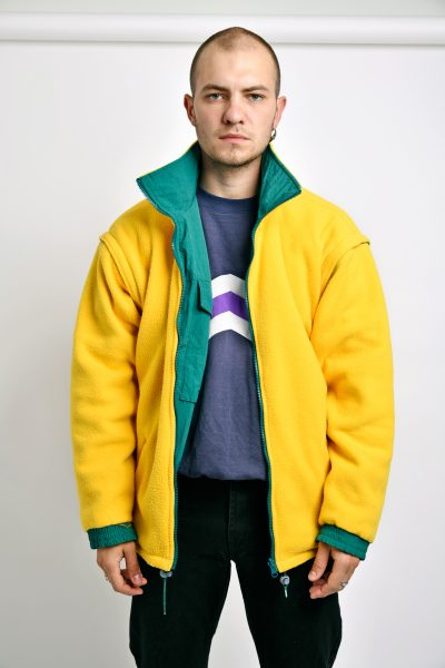 Reversible double sided jacket