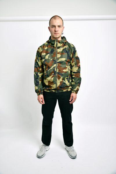 Camo military jacket vintage