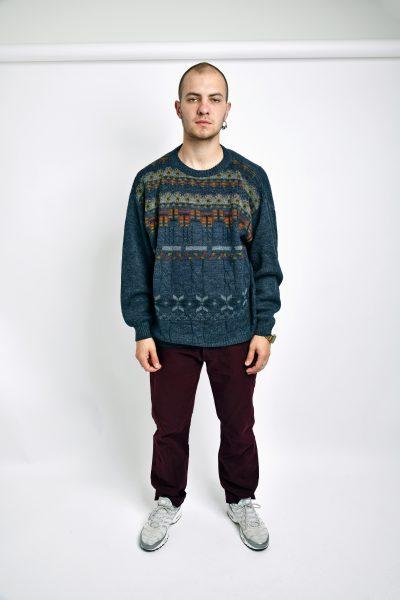 Vintage 90s sweater multi