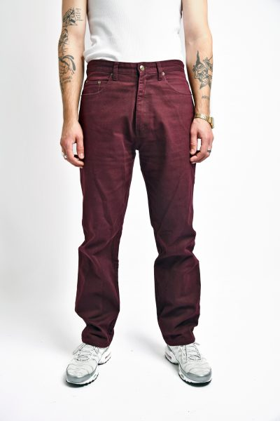 Vintage jeans marron cherry