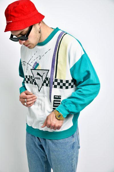 PUMA vintage sweatshirt multi