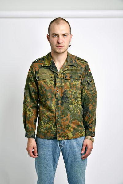 Vintage camo mens jacket