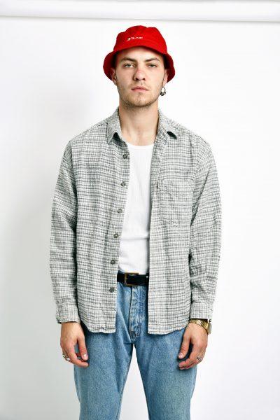 Vintage cotton shirt men