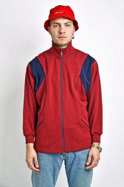 Retro red 70s jacket
