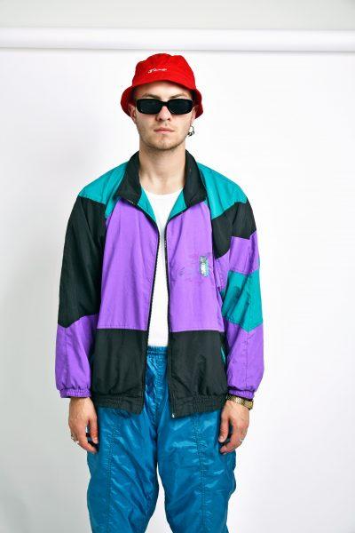 Vintage multi 80s jacket