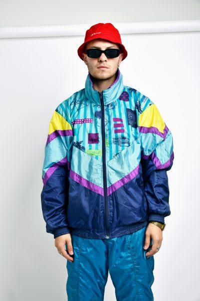 Retro sport festival jacket